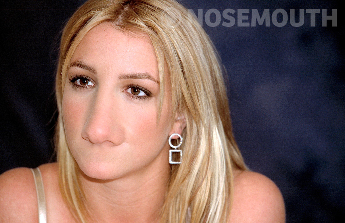 nosemouth britney spears
