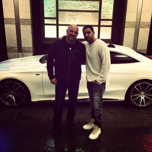 Drake Picks Up The First 2015 BRABUS S-Coupe