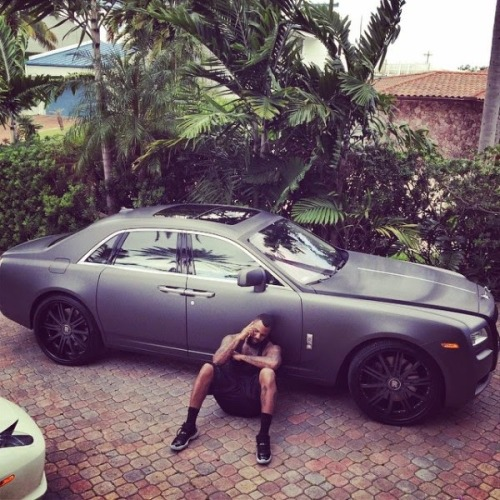The Game Living It Up In Miami1