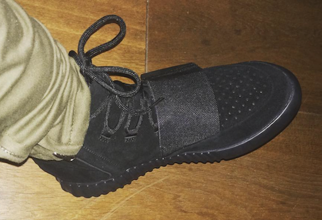 """online store 0348a 54acc On-Foot Look at the """"Black"""" adidas Yeezy 750 Boost"""