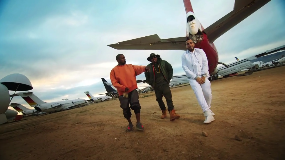 French Montana Figure It Out Ft. Kanye West & Nas Video